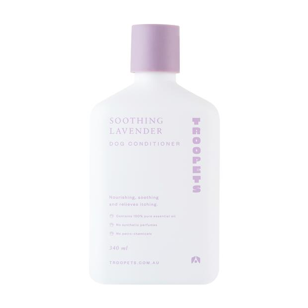 Troopets Dog Conditioner Soothing Lavender 340ml Pet: Dog Category: Dog Supplies  Size: 0.3kg  Rich...