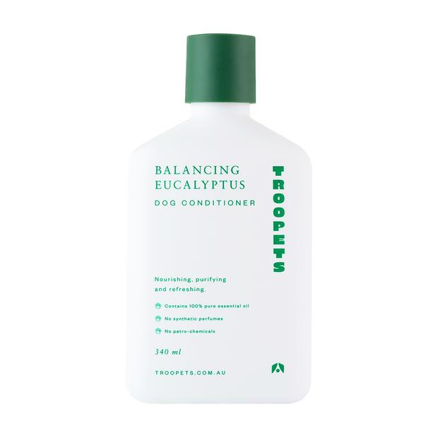 Troopets Dog Conditioner Balancing Eucalyptus 340ml Pet: Dog Category: Dog Supplies  Size: 0.3kg  Rich...