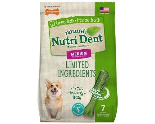 NYLABONE NUTRIDENT FRESH BREATH MEDIUM 189GA winning smile and breath as fresh as a daisy, that's all...