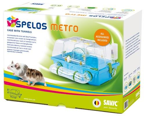 Savic Spelos MetroYour mice will be the luckiest rodents alive when they call the Savic Spelos Metro...