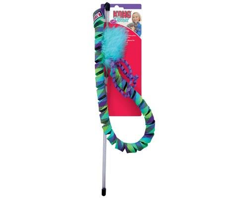 KONG CURLZ TEASERThe corkscrew curl?s the key to the kitty party at the end of this...