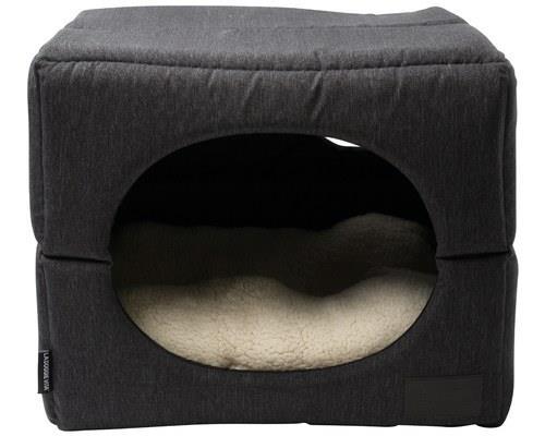 LA DOGGIE VITA CHARCOAL DOG CUBE MEDIUMThe 'Dog Cube' by La Doggie Vita features an innovative design...