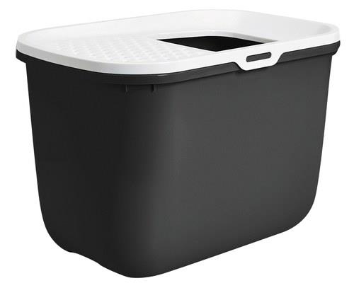 SAVIC HOP IN CAT LITTER BOX WHITE/GREYIt doesn't get any more minimalist or modern than this. Perfectly...