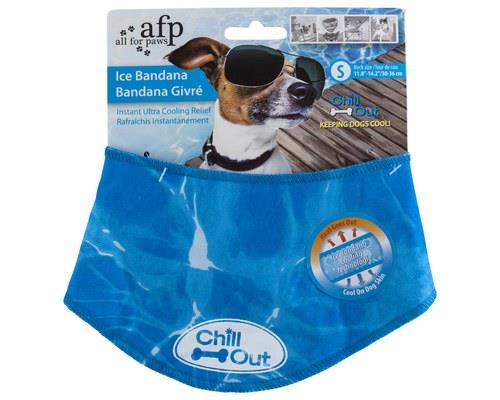 ALL FOR PAWS (AFP) CHILL OUT BANDANA SMALL 20CMX20CMWhile we wear hats in summer, dogs wear...