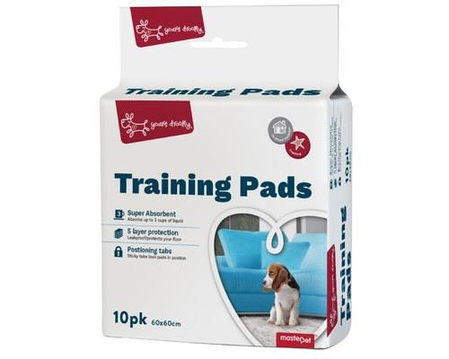 Yours Droolly Puppy Training Pads, 10 PackSize: 60cm L x 60cm WToilet training a puppy needn't be...