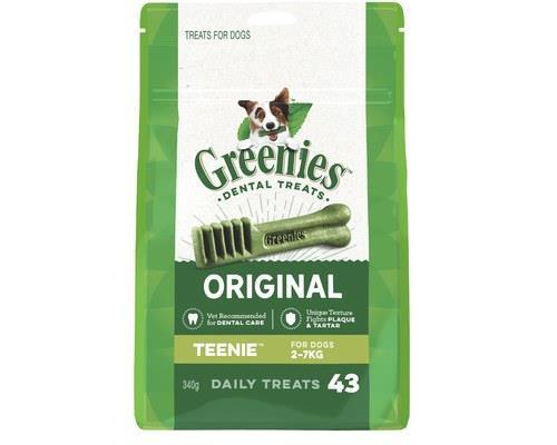 Greenies Dental Treat Pack, Teenie, 43 ChewsGreenies dental treats for dogs are one of the easiest ways...