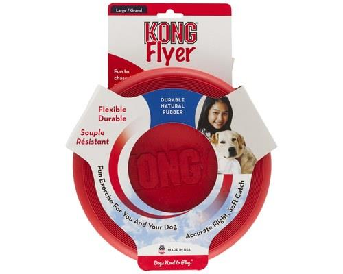KONG CLASSIC FLYER LARGEKONG Classic Flyer is made for fetching. It is made of durable KONG...