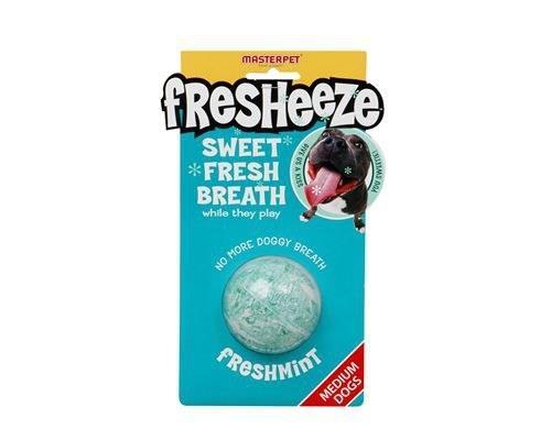Fresheeze Mint Dog Dental Ball, MediumSize:Suitable for medium dogs, 5.5cmThis dog toy provides...