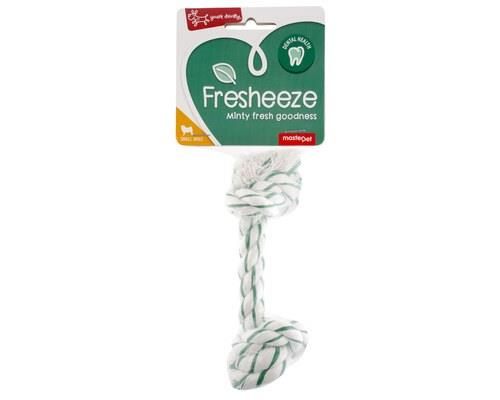 Fresheeze Mint Dog Dental Rope, SmallSize:Suitable for small dogs, 15cm L x 6cm W x 6cm HThis dog...