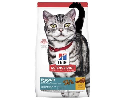 KEY BENEFITS: Science Diet Indoor Cat Adult cat food. It's a complete and balanced food designed for...