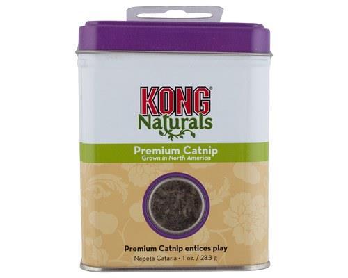 KONG PREMIUM CATNIP 28GMKONG Naturals Premium North American Catnip stays fresh in a handy...