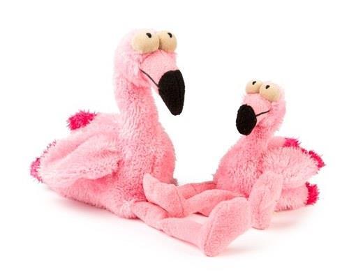 FuzzYard Dog Toy, Flo the Flamingo, LargeSize:21cmAll legs and pink plumage, Flo the Flamingo...