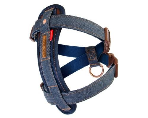 EZYDOG HARNESS CHEST PLATE L DENIMThe most comfy and trendy harness out on the streets. It's safe and...