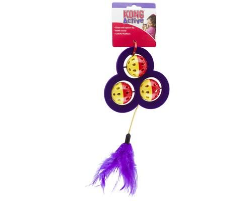 KONG CAT ACTIVE CHASE CRAZEKONG Active toys promote healthy exercise and fulfill cats?...