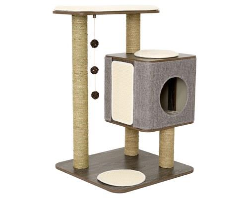 LULU'S WORLD CUBOX BASE CAT SCRATCHER GREYIn Lulu's World, every cat has their dream cat scratcher...