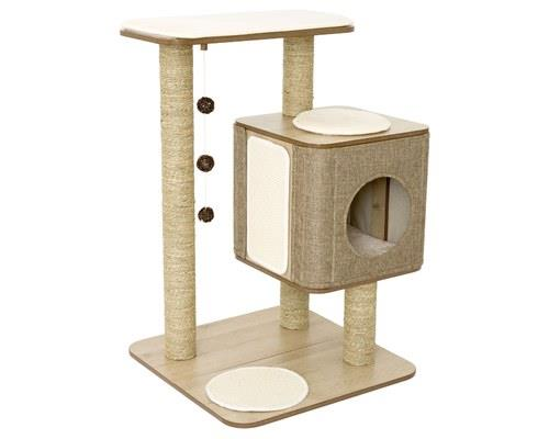 LULU'S WORLD CUBOX BASE CAT SCRATCHER OAKIn Lulu's World, every cat has their dream cat scratcher, just...