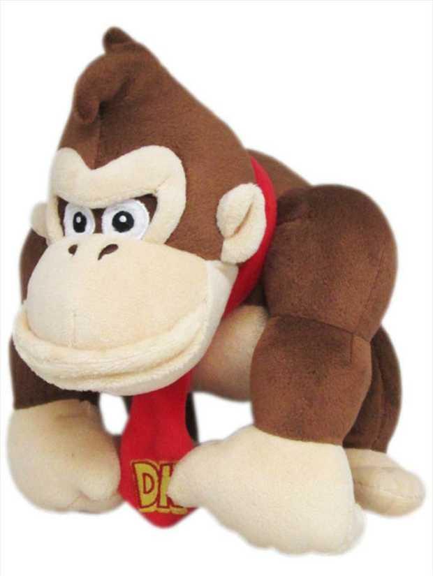 Super Mario Bros Plush Donkey Kong 10'