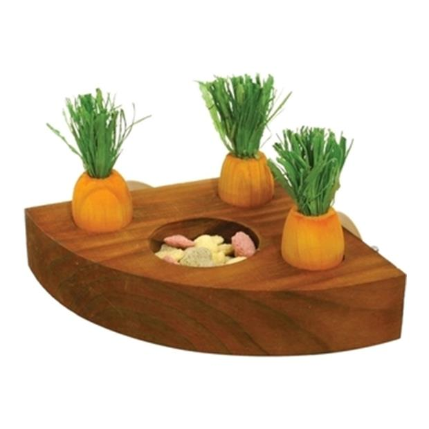 Rosewood Carrot N Treat Holder Each Pet: Small Pet Category: Small Animal Supplies  Size: 0.2kg  Rich...