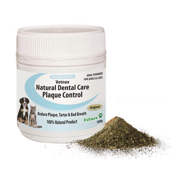 Vetnex Natural Dental Care Plaque Control Powder Original 100g Pet: Dog Category: Dog Supplies  Size:...