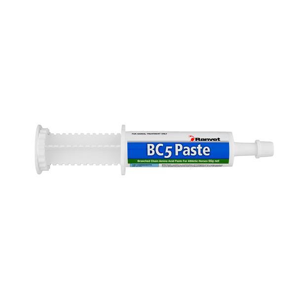 Ranvet Bc5 Amino Acids Paste 55g Pet: Horse Size: 0.1kg  Rich Description: Suitable for horses in heavy...