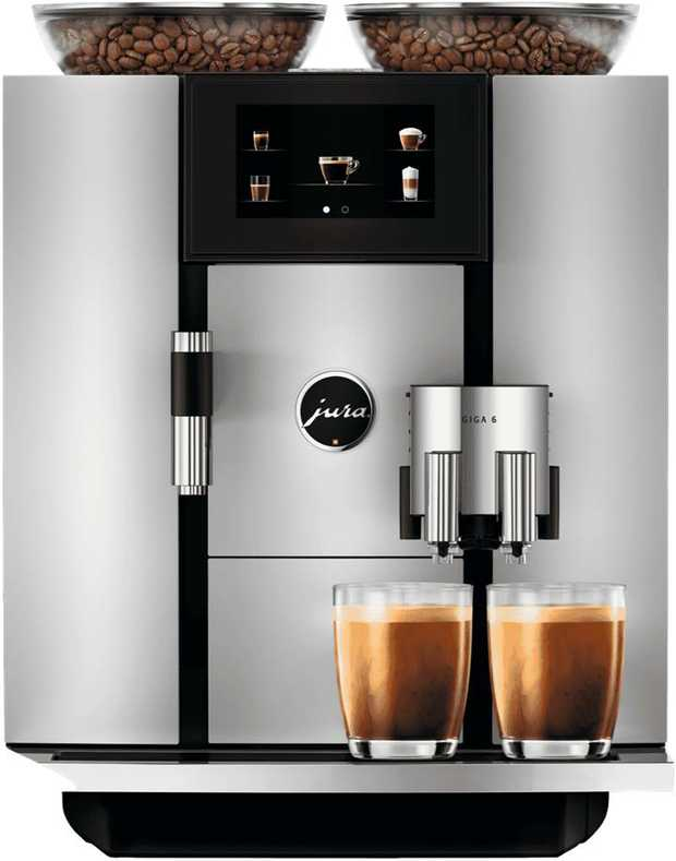 JURA is redefining the concept of automatic speciality coffee machines with the GIGA 6.This...