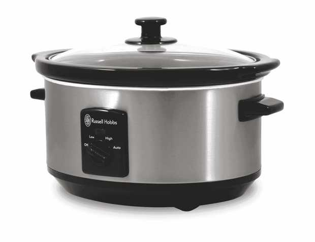 This Russell Hobbs cooker is a slow cooker. It features a 3.5 litre capacity, so you can fill multiple...