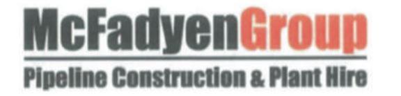 McFadyen Group Pipeline Construction & Plant HireRequiresOperators/Pipelayers/LabourersSunshine...
