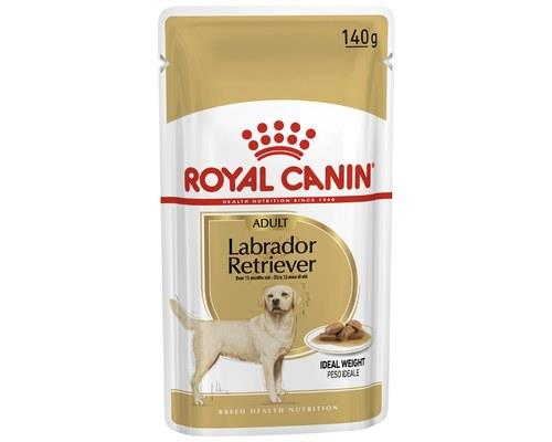 ROYAL CANIN DOG FOOD LABRADOR RETRIEVER GRAVY 140GLabradors are notorious for their ability to gain...