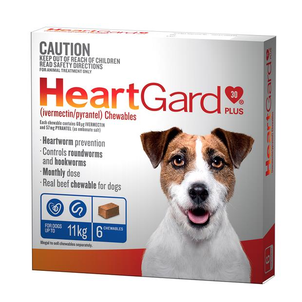 Heartgard Plus Sml Dog Blue 6 Pack Pet: Dog Category: Dog Supplies  Size: 0.1kg  Rich Description:...