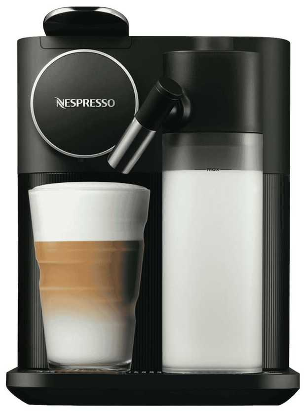 This DeLonghi coffee machine's espresso maker helps you enjoy speciality coffees at your convenience.