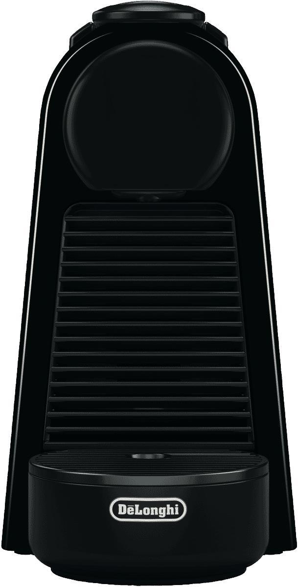 Serve espresso drinks easily with this Nespresso coffee machine's espresso maker. It has a black...