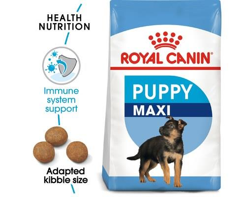 ROYAL CANIN MAXI JUNIOR PUPPY FOOD 15KGThis formula is designed for large breed puppies. The energy...