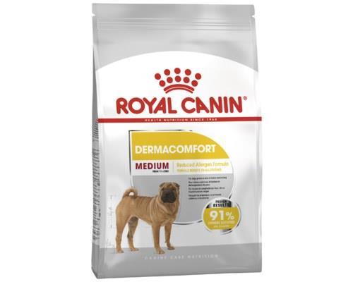 Royal Canin Medium Dermacomfort Medium Breed Dog Food, 3kgThis formula is designed for adult medium...