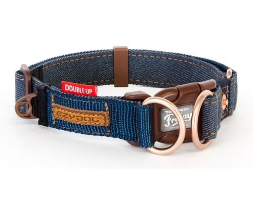 EZYDOG COLLAR DOUBLE UP M DENIMThis is premium hardware for your dog - and best of all it's super...
