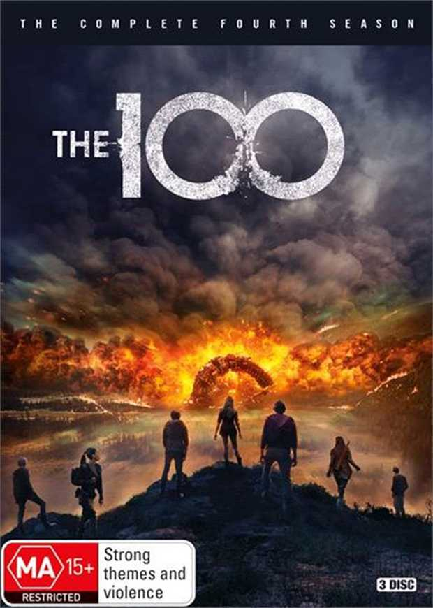 The 100 - Season 4 DVD       Survival isn't who you are. It's who you...