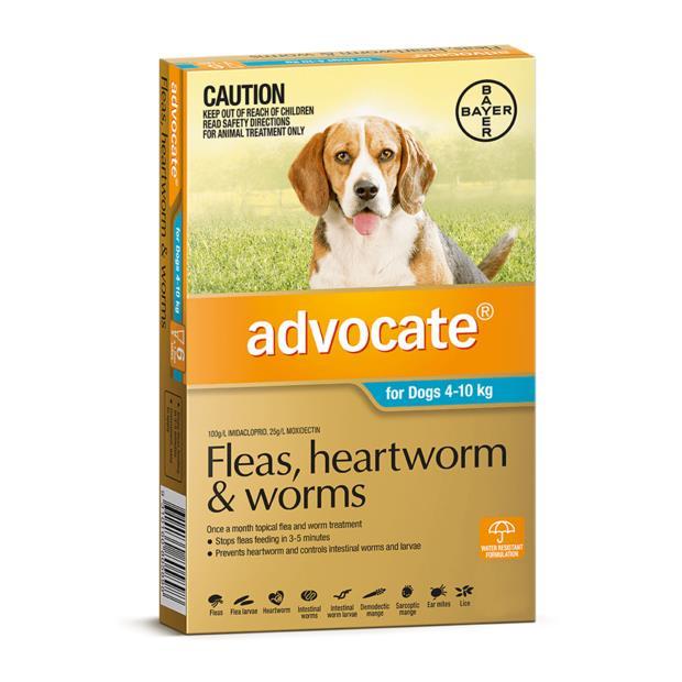 Advocate Dog Medium Aqua 6 Pack Pet: Dog Category: Dog Supplies  Size: 0.2kg  Rich Description:...