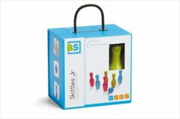 Introduce your children to bowling and develop their throwing skills with this colourful...
