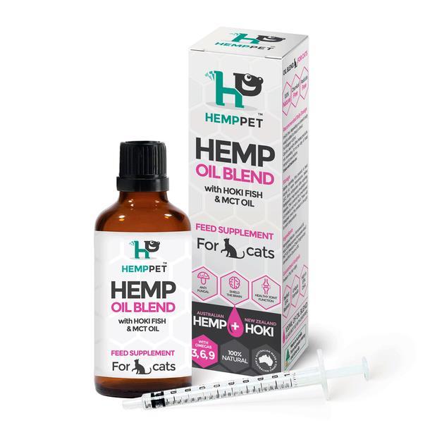 Hemp Pet Hemp Oil Hemp Hoki And Mct Blend For Cats 100ml Pet: Cat Category: Cat Supplies  Size: 0.2kg...