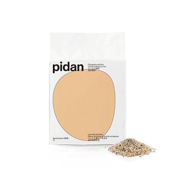 Pidan Composite Cat Mineral Tofu Litter 7L Pet: Cat Category: Cat Supplies  Size: 3.8kg  Rich...