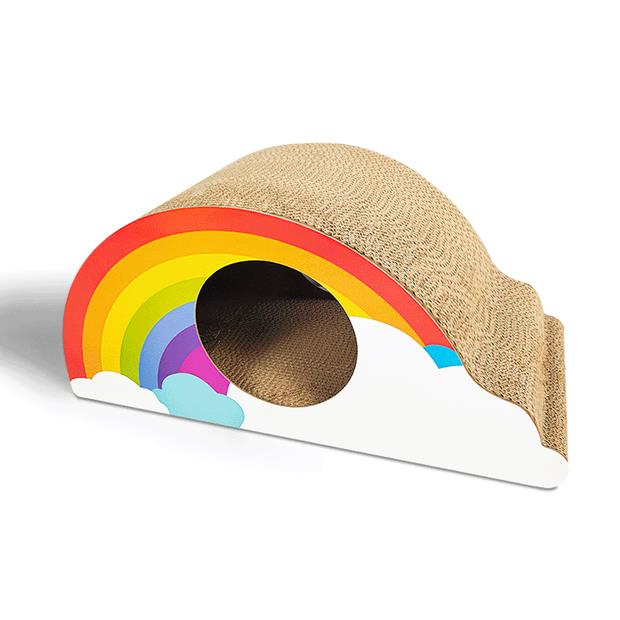 Zodiac Rainbow Cat Scratcher Each Pet: Cat Category: Cat Supplies  Size: 0.5kg  Rich Description:...