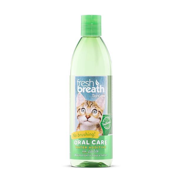 Tropiclean Cat Water Additive Fresh Breath 473ml Pet: Cat Category: Cat Supplies  Size: 0.5kg  Rich...