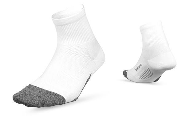 Receive unparalleled support and comfort in the Feetures Elite Light Cushion Quarter Socks. Using...