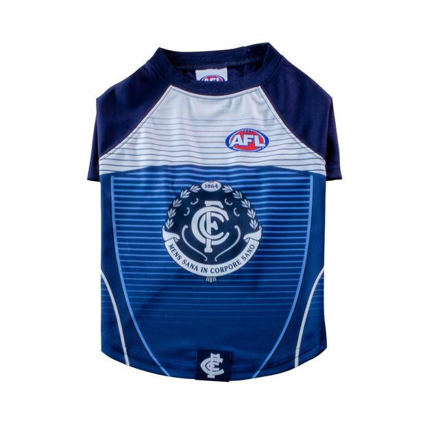 Afl Dog T Shirt Carlton Blues Medium Pet: Dog Category: Dog Supplies  Size: 0.1kg Colour: Blue  Rich...