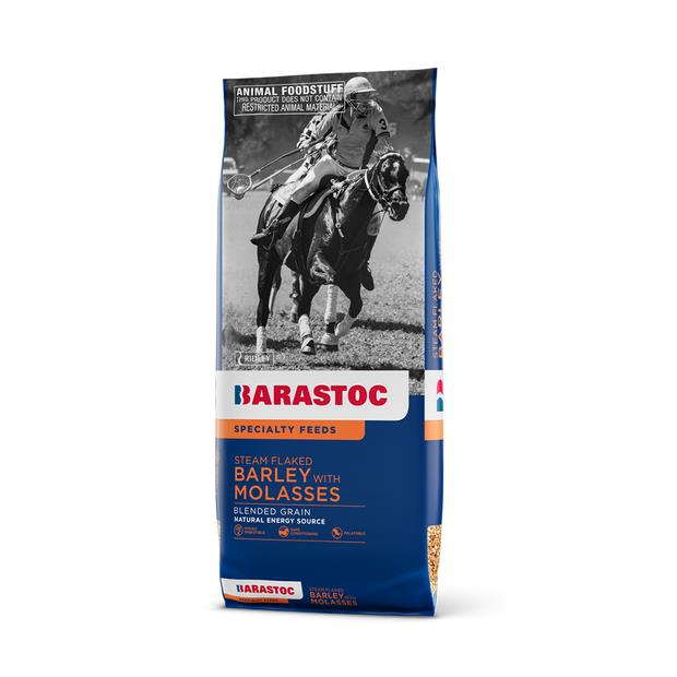 Barastoc Steam Flaked Molasses Barley 20kg Pet: Horse Size: 20kg  Rich Description: Barastoc is part of...
