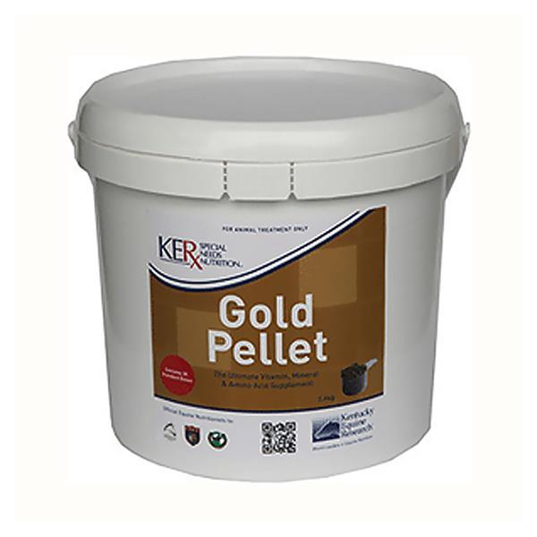 Ker Equivit Gold Pellet 3.6kg Pet: Horse Size: 3.8kg  Rich Description: Ideal for Overweight horses and...