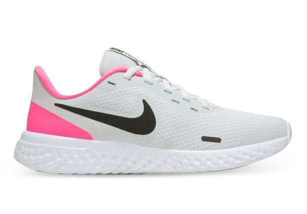 The Revolution 5 by Nike is a lightweight running shoe that will keep up with young athletes. The soft...