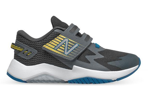 The New Balance Rave enables kids with all-day cushioning, for plush underfoot comfort. The lightweight...