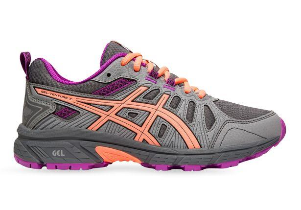 The GEL-Venture 7 Grade School stability shoe is ideal for kid's that tend to overpronate. These tough...