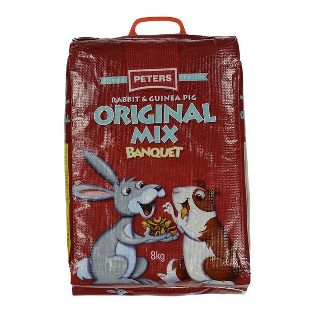 Peters Original Mix Rabbit And Guinea Pig Food 8kg Pet: Small Pet Category: Small Animal Supplies ...