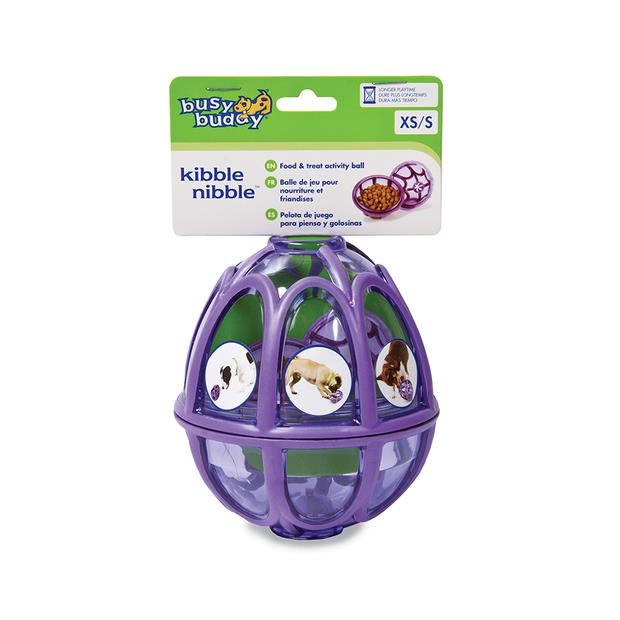 Busy Buddy Kibble Nibble Dog Toy Small Pet: Dog Category: Dog Supplies  Size: 0.1kg Colour: Purple...
